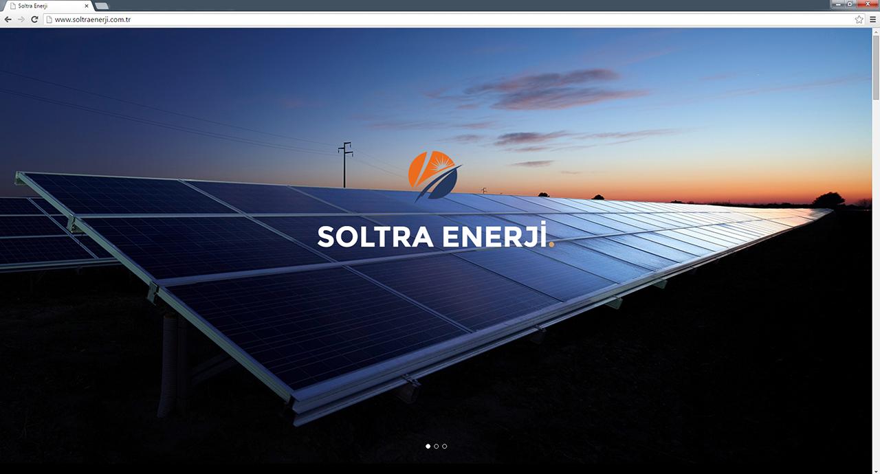Soltra Enerji Web Sitesi
