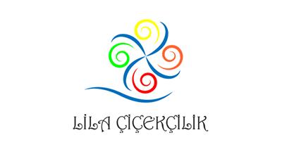 Lila Çicekcilik Logo Çalışması