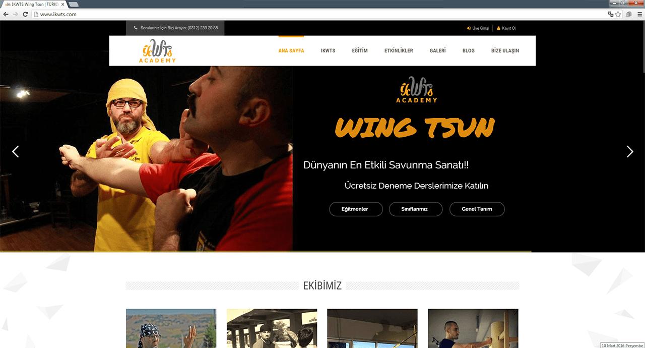 IKWTS web sitesi